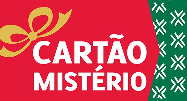Cartão Mistério dá prémios desde 3 € até 50€