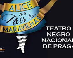 Alice no País das Maravilhas, pelo Teatro Negro Nacional de Praga