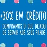 Kid to Kid lança campanha que oferece mais 30% em crédito na loja