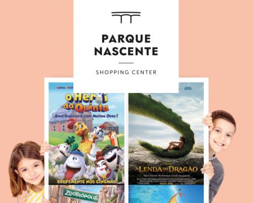 Dia da Criança com Sessões de Cinema Gratuitas no Parque Nascente