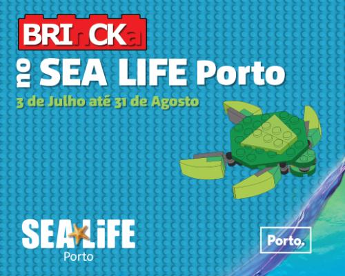 Este Verão a LEGO chega ao SEA LIFE Porto