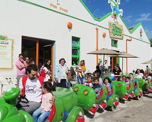 Divirtam-se no Fun Park Feijão Verde Gaia