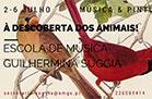 Workshop de música e pintura – À Descoberta dos Animais!
