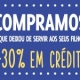 Campanha mais 30% em crédito na loja durante o mês de Fevereiro