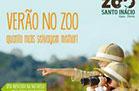 Férias do verão no Zoo Santo Inácio