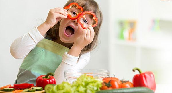 Como fazer as crianças comerem legumes!