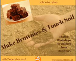 Make Brownies & Touch Soil