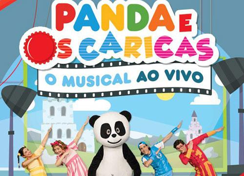 Musical Panda e os Caricas para as famílias no Porto