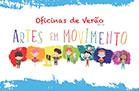 Campo de Férias de Verão na Escola de Artes em Movimento