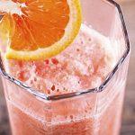 Batido energético de laranja e melão, para recuperar energias!