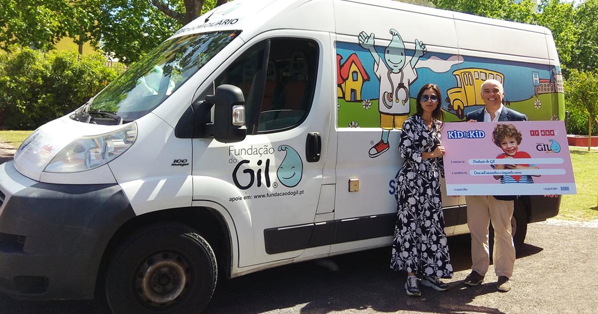 Kid to Kid doa perto de 12.000€ à Fundação do Gil e poupa mais de 233 mil sacos ao ambiente