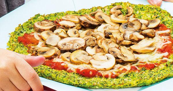 Pizza deliciosa para quem torce o nariz aos vegetais!
