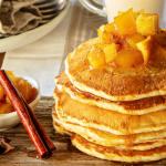 Panquecas de maçã e canela… para começar o ano de forma doce!